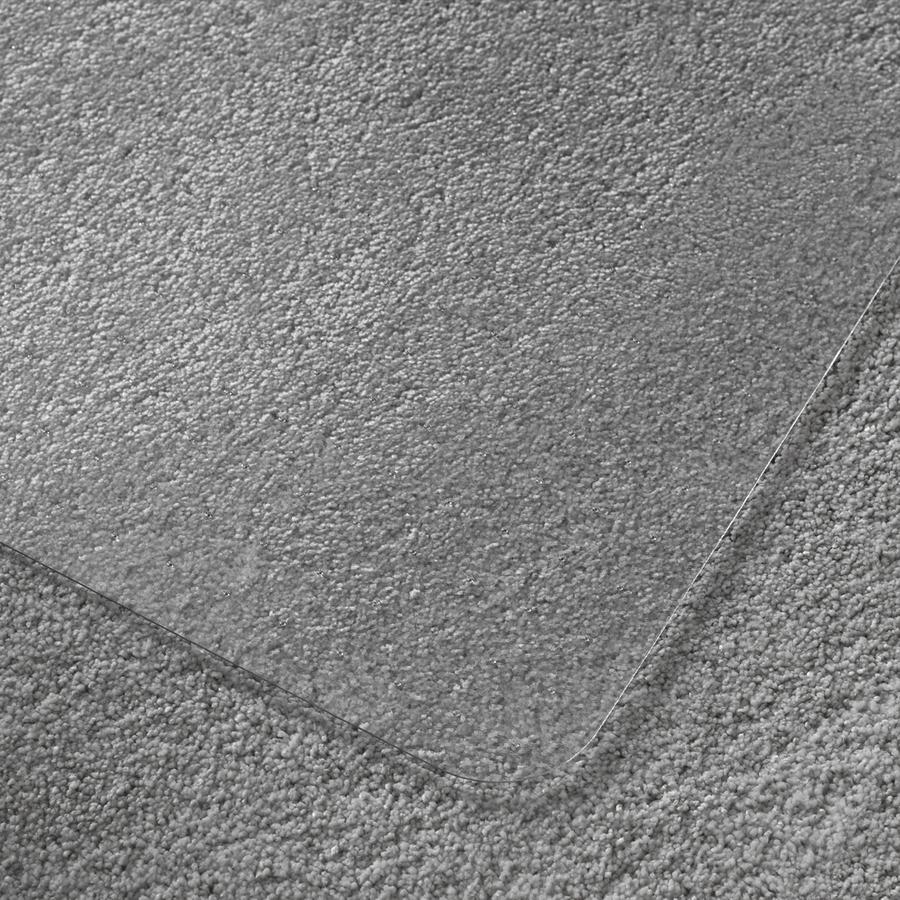 Cleartex deep pile polycarbonate chairmat zerbee - Deep pile carpet protector ...