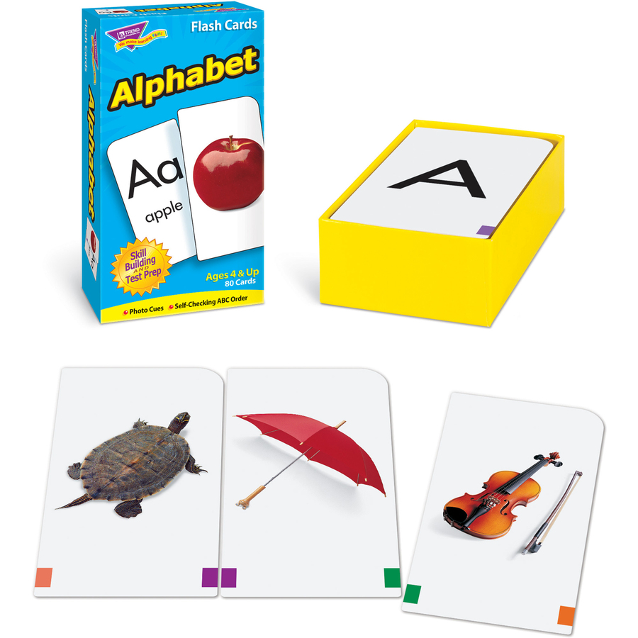 Tep53012 Trend Alphabet Flash Cards Educational Office Supply Hut
