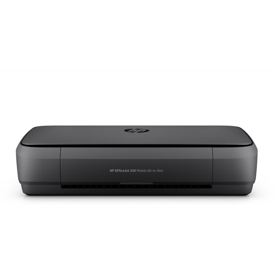 HP Officejet 250 Inkjet Multifunction Printer - Color -  Copier/Printer/Scanner - 20 ppm Mono/19 ppm Color Print - 4800 x 1200 dpi  Print - Manual