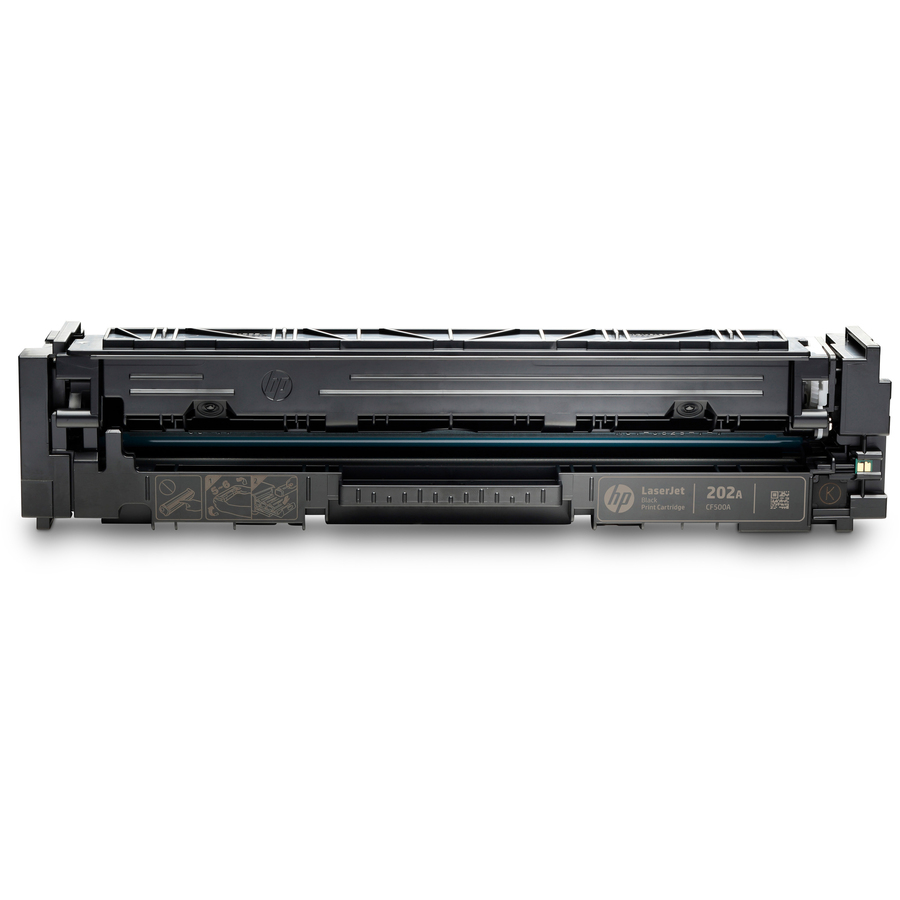 HP 202A Black Original LaserJet Toner Cartridge CF500A