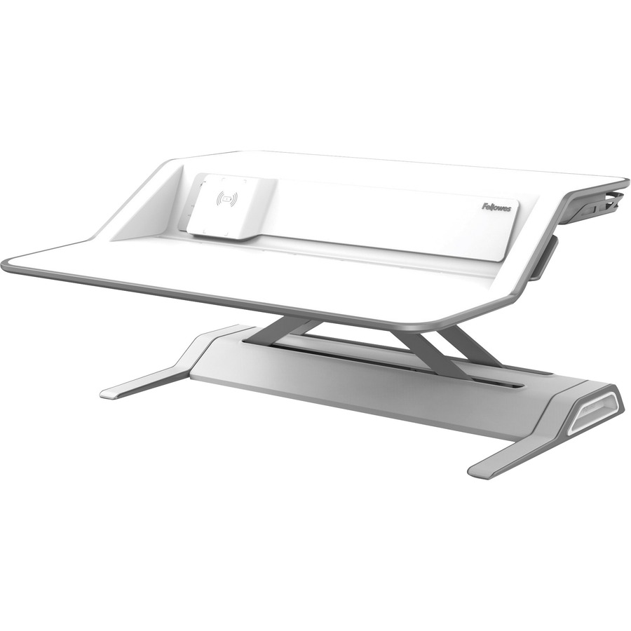 Fellowes Lotus Dx Sit Stand Workstation White 35 Lb