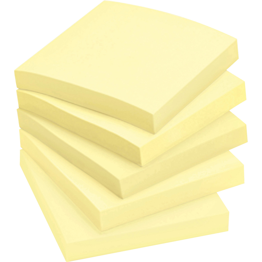 Post It 174 Canary Yellow Original Note Pads