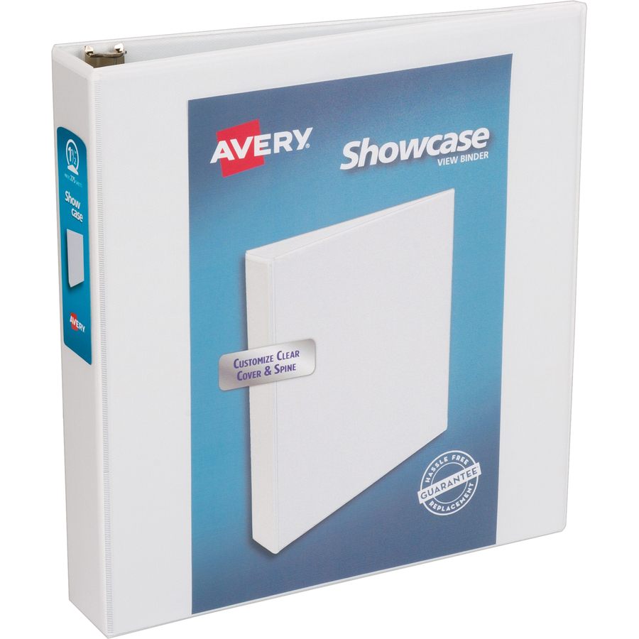 avery showcase economy view binders with round rings direct office