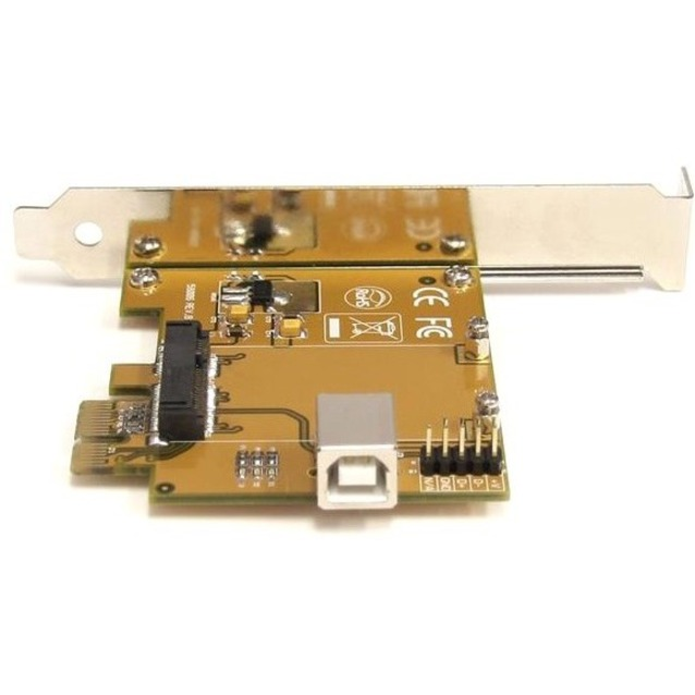 StarTech.com PCI Express to Mini PCI Express Card Adapter - 1 x Mini PCI Express