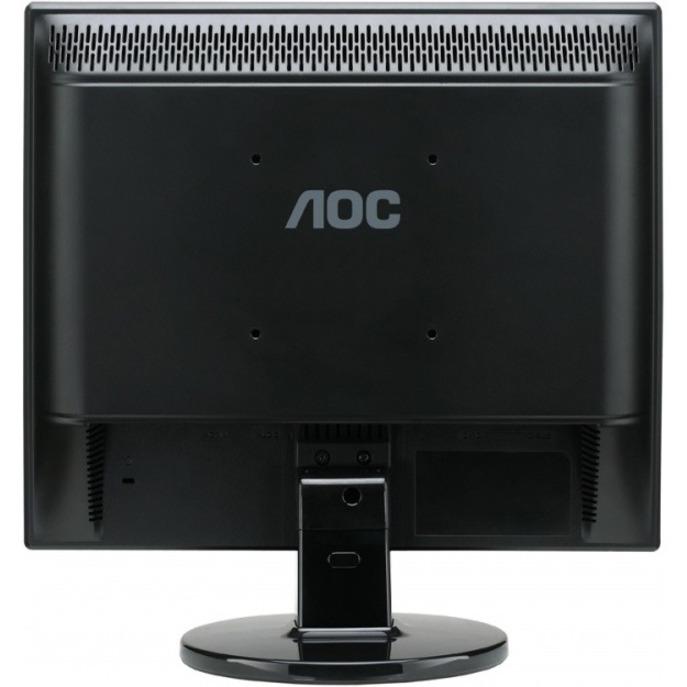 AOC e719Sda 17inch Black, Silver computer monitor