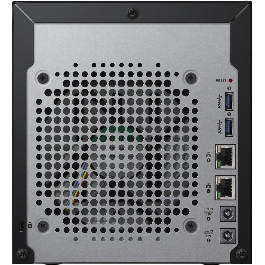 WD My Cloud EX4100 4 x Total Bays NAS Server - Marvell ARMADA 300 388 Dual-core