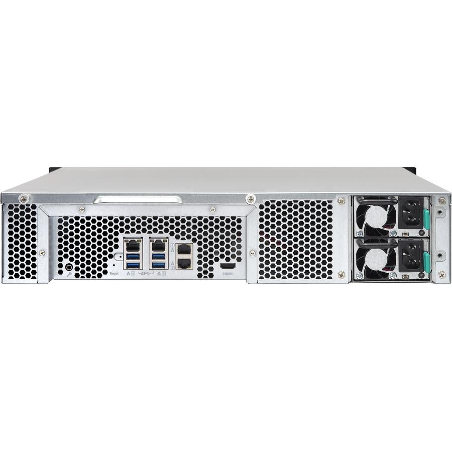 QNAP TS-853U 16TB (8 x 2TB WD Red) 8 Bay 2U Rackmount NAS
