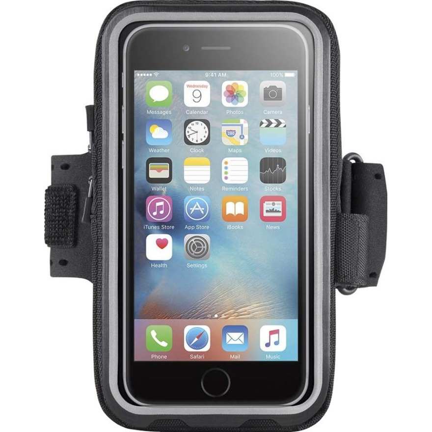 Belkin Storage Plus Carrying Case Armband for iPhone 6, iPhone 6S - Black - Armband