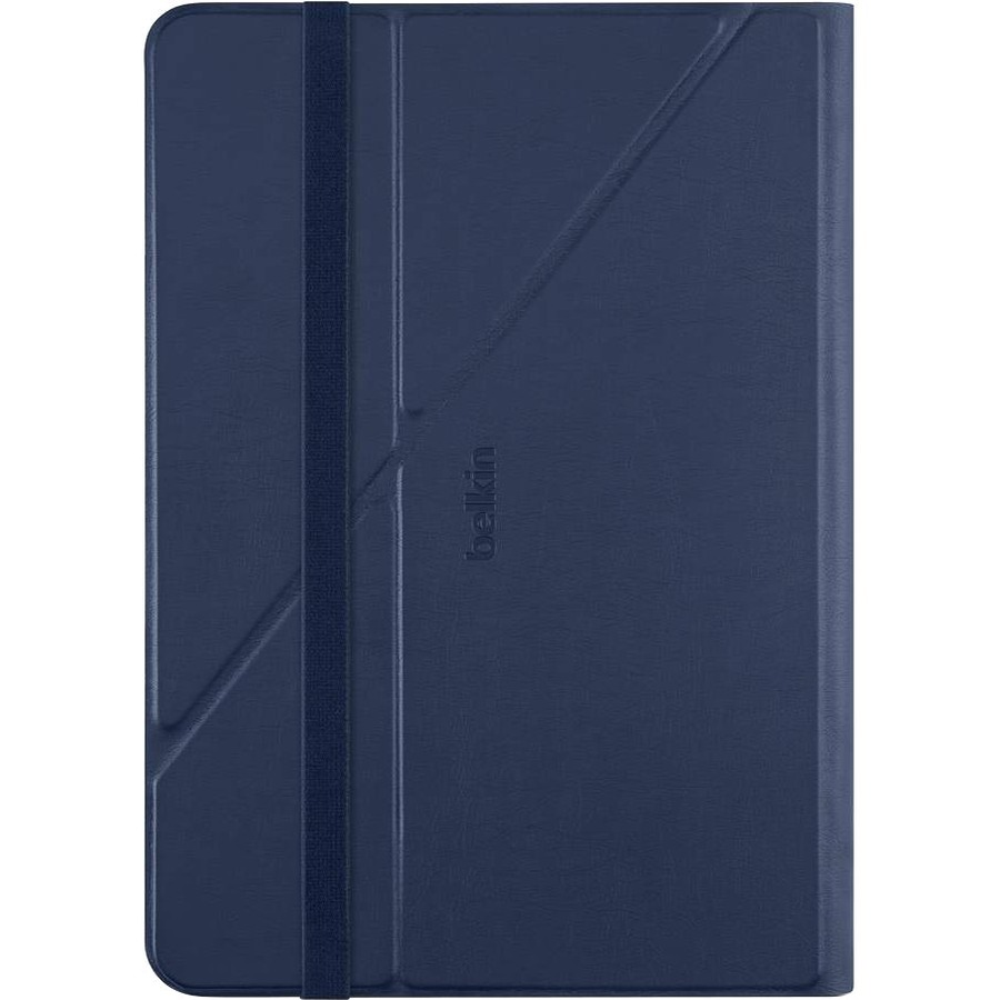 Belkin Twin Stripe Carrying Case Folio for 25.4 cm 10inch iPad Air, iPad Air 2, Tablet - Deep Sea, Marina Blue - Shock Resistant, Scratch Resistant, Dust Resistant,
