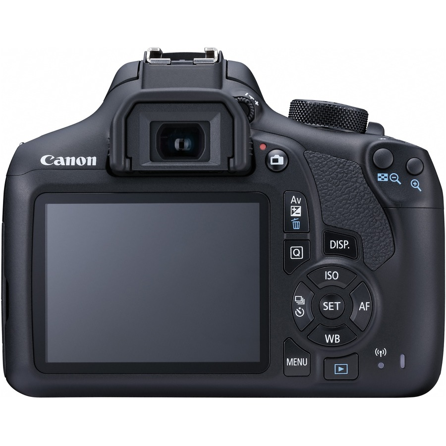 Canon EOS 1300D 18 Megapixel Digital SLR Camera with Lens - 18 mm - 55 mm - Black