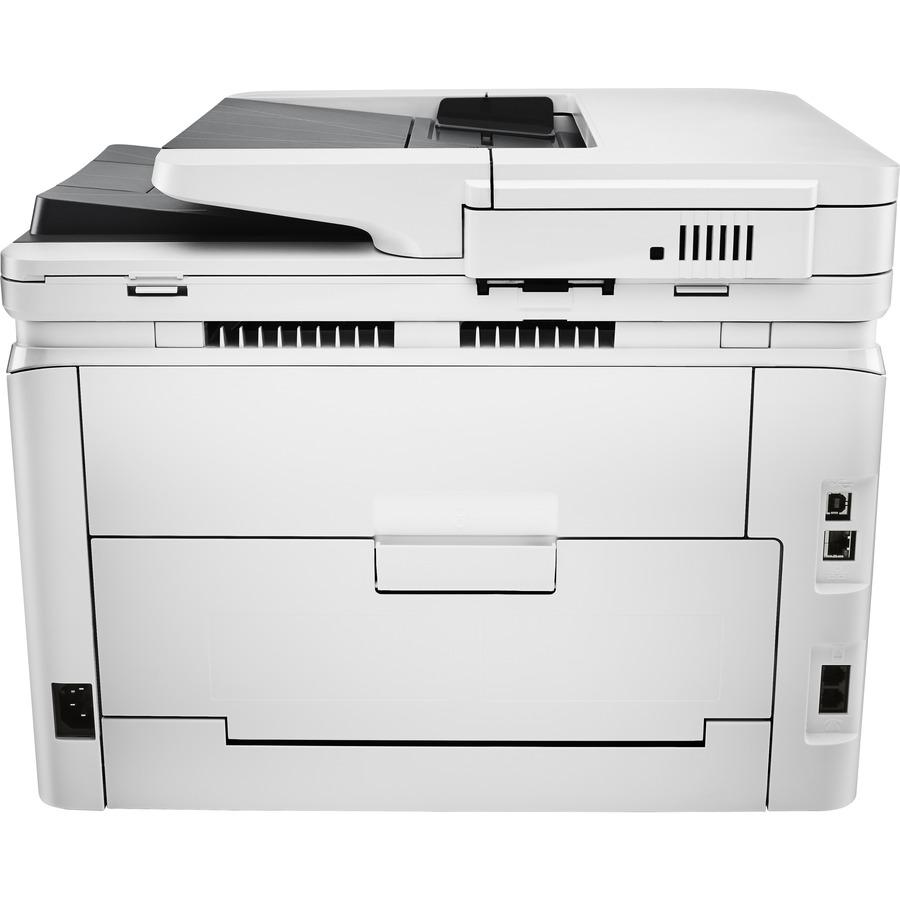 HP LaserJet Pro M277 M277n Laser Multifunction Printer - Colour -  Copier/Fax/Printer/Scanner - 18 ppm Mono/18 ppm Color Print - 600 dpi Print  - Manual