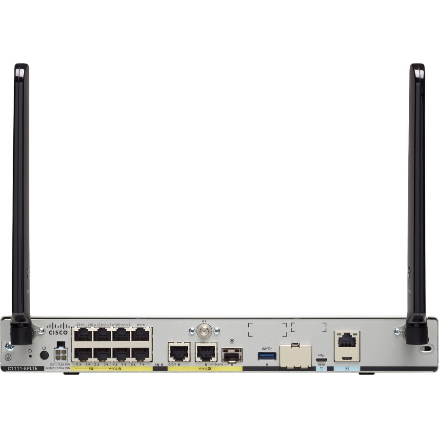 Cisco C1111-8PLTEEA Cellular Wireless Integrated Services Router