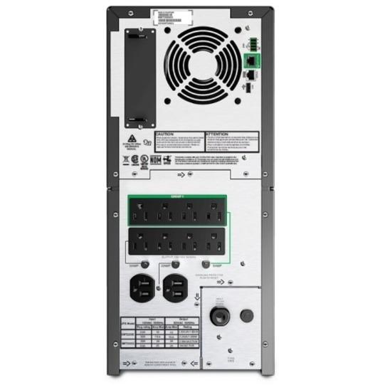 APC by Schneider Electric Smart-UPS SMT2200C 2 2KVA Tower UPS