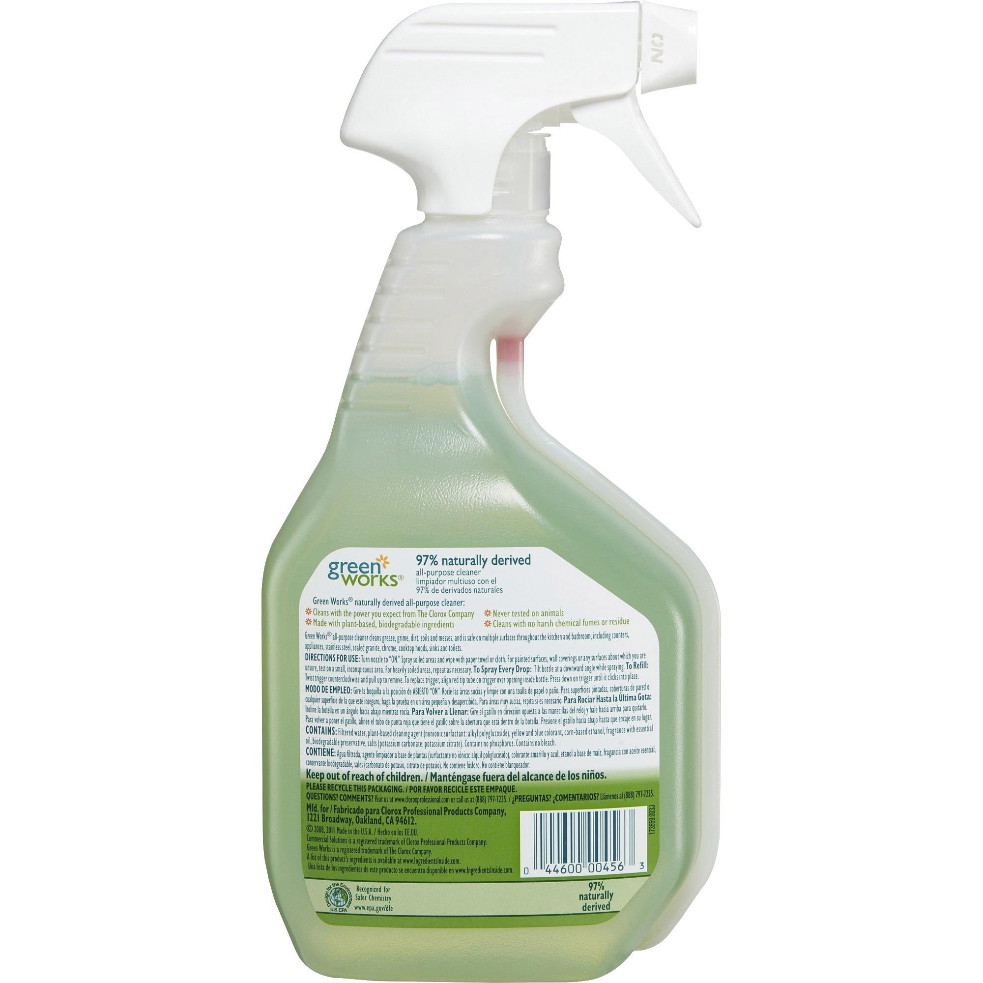 CLO00456 Green Works AllPurpose Cleaner GSA Advantage