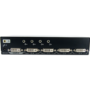 StarTech.com 4 Port DVI Video Splitter with Audio - 1 x DVI-I Dual-Link Video In