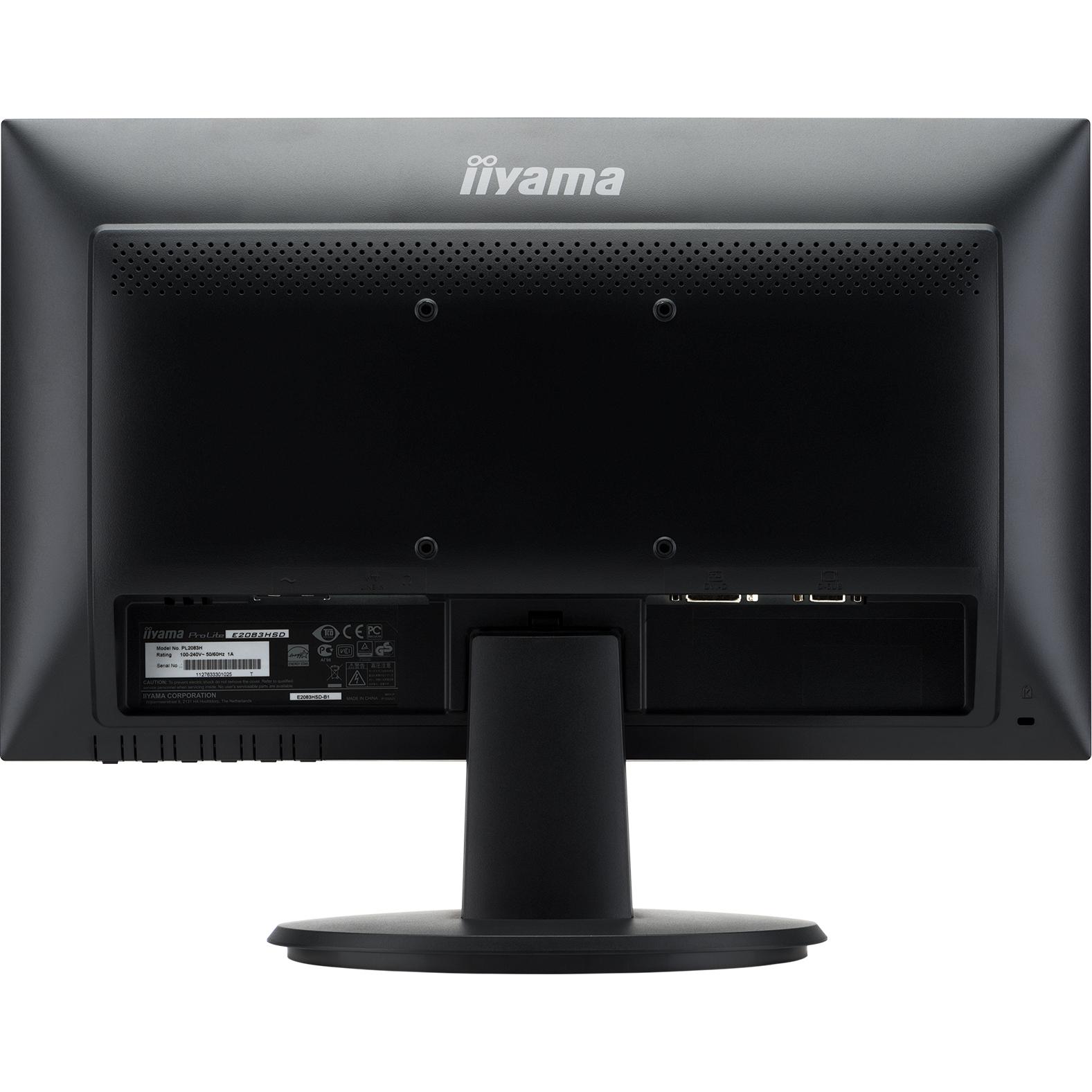 iiyama ProLite E2083HSD 49.5 cm 19.5inch LED LCD Monitor - 16:9 - 5 ms