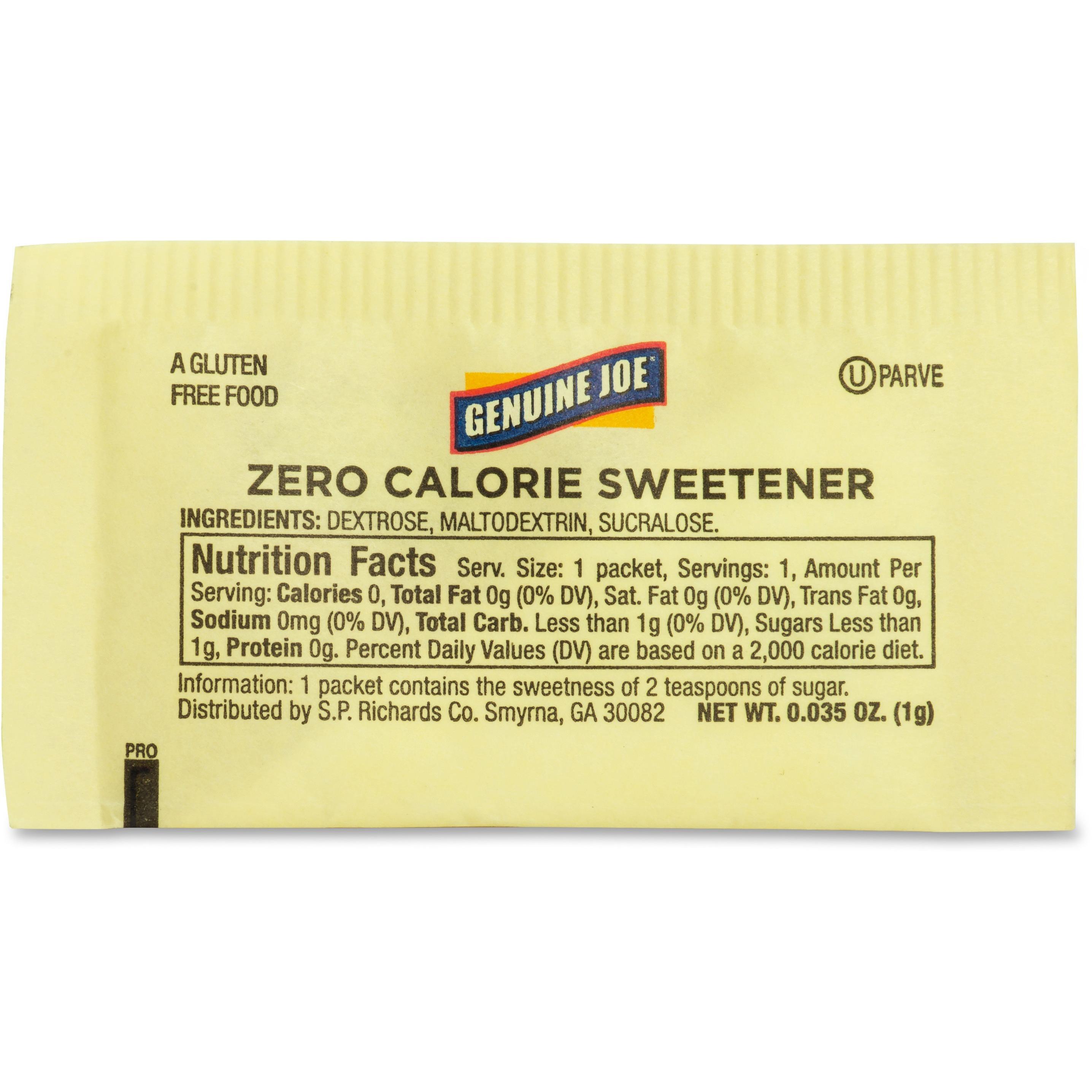 Genuine Joe Sucralose Zero Calorie