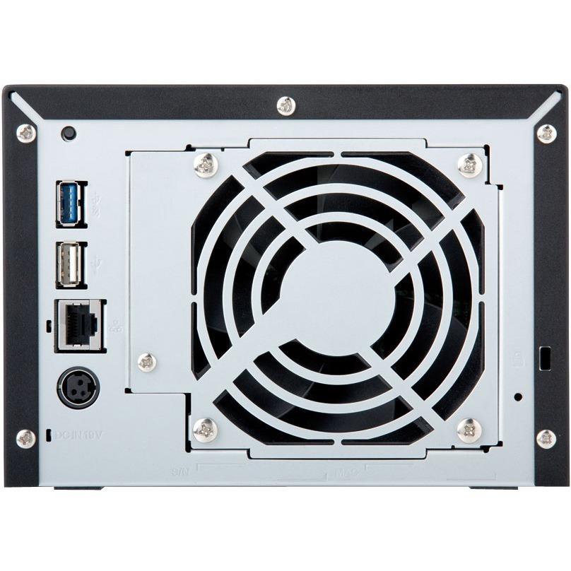 Buffalo TeraStation TS1400D0404 4 x Total Bays NAS Server - Marvell ARMADA 370 Dual-core 2 Core 1.20 GHz - 4 TB HDD 4 x 1 TB - 512 MB RAM DDR3 SDRAM - Serial ATA