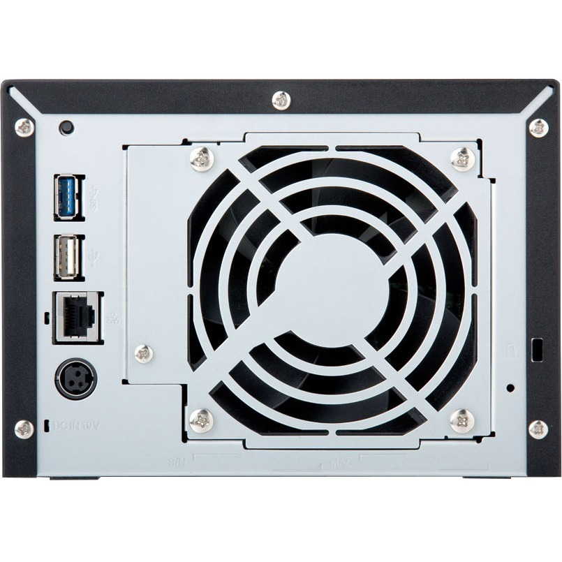 Buffalo TeraStation TS1400D0804 4 x Total Bays NAS Server - Marvell ARMADA 370 Dual-core 2 Core 1.20 GHz - 8 TB HDD 4 x 2 TB - 512 MB RAM DDR3 SDRAM - Serial ATA