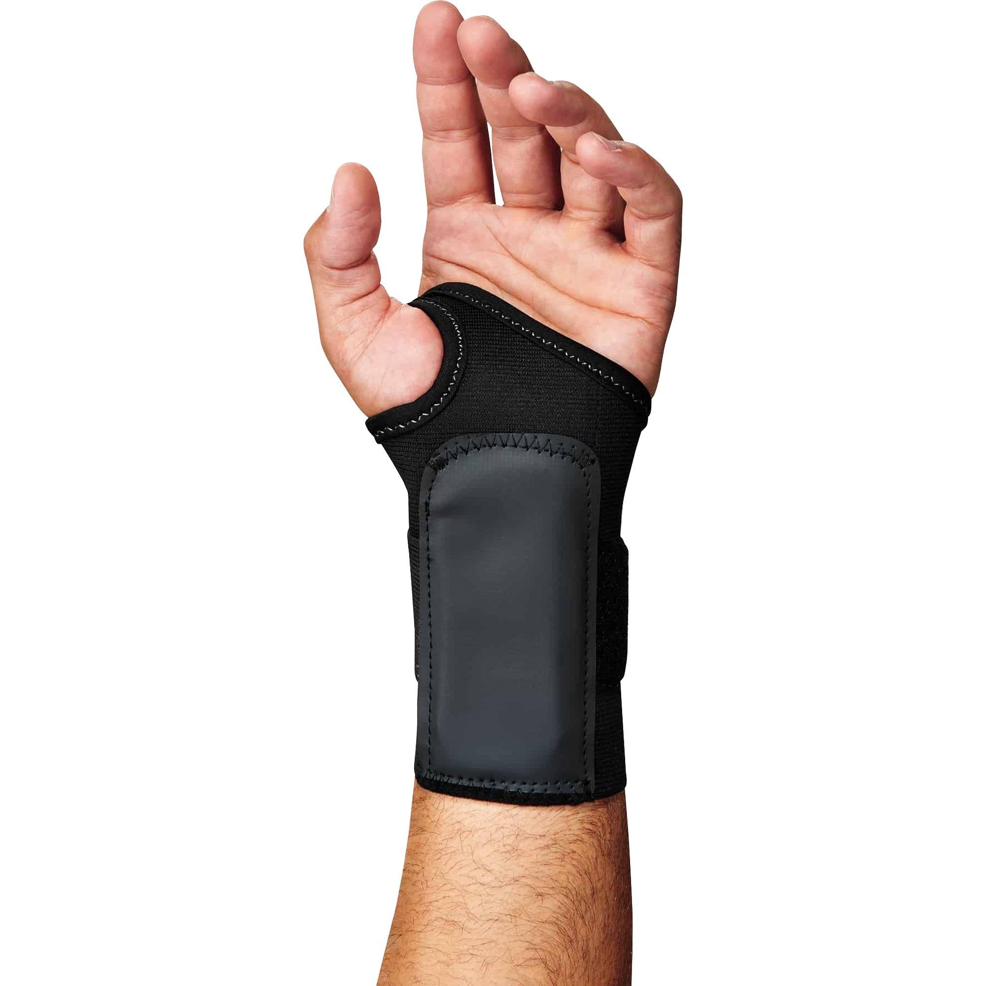 PROFLEX BY ERGODYNE 4000 Wrist Support M Left Black