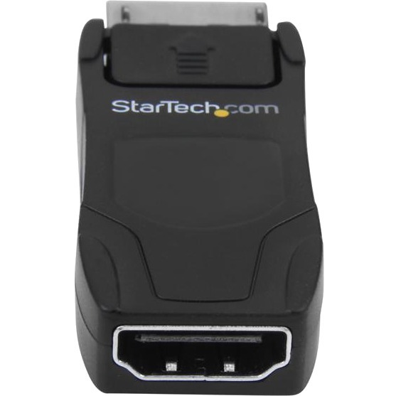 StarTech.com DisplayPort to HDMI Converter - Passive DP to HDMI Adapter - 4K - 1920 x 1200 Supported