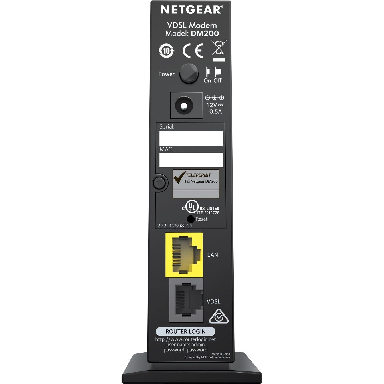 Netgear DM200 Router