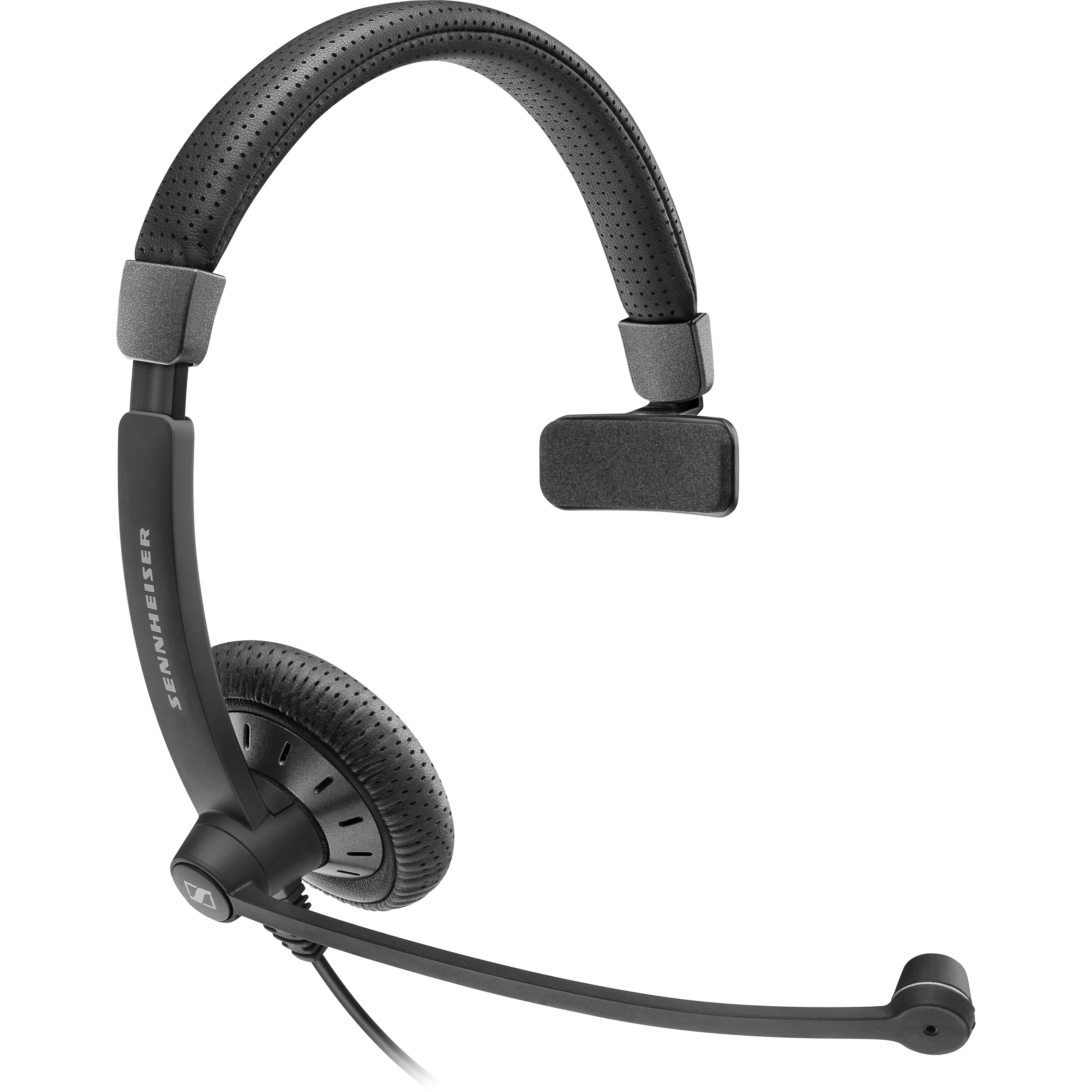 Sennheiser SC 45 USB MS Wired Stereo Headset - Over-the-head - Supra-aural - Black