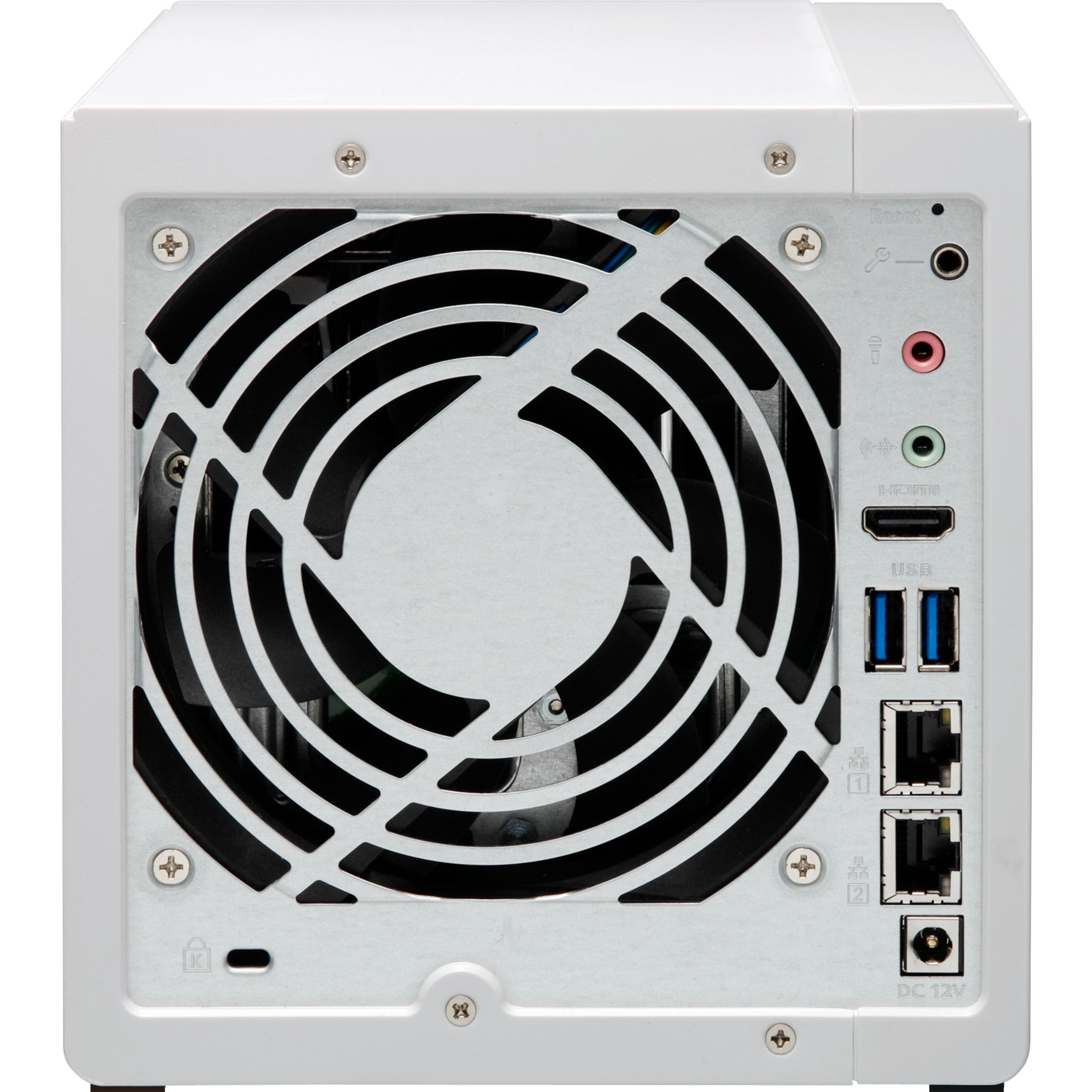 QNAP Turbo NAS TS-451A 4 x Total Bays SAN/NAS Storage System - Desktop - Intel Celeron Dual-core
