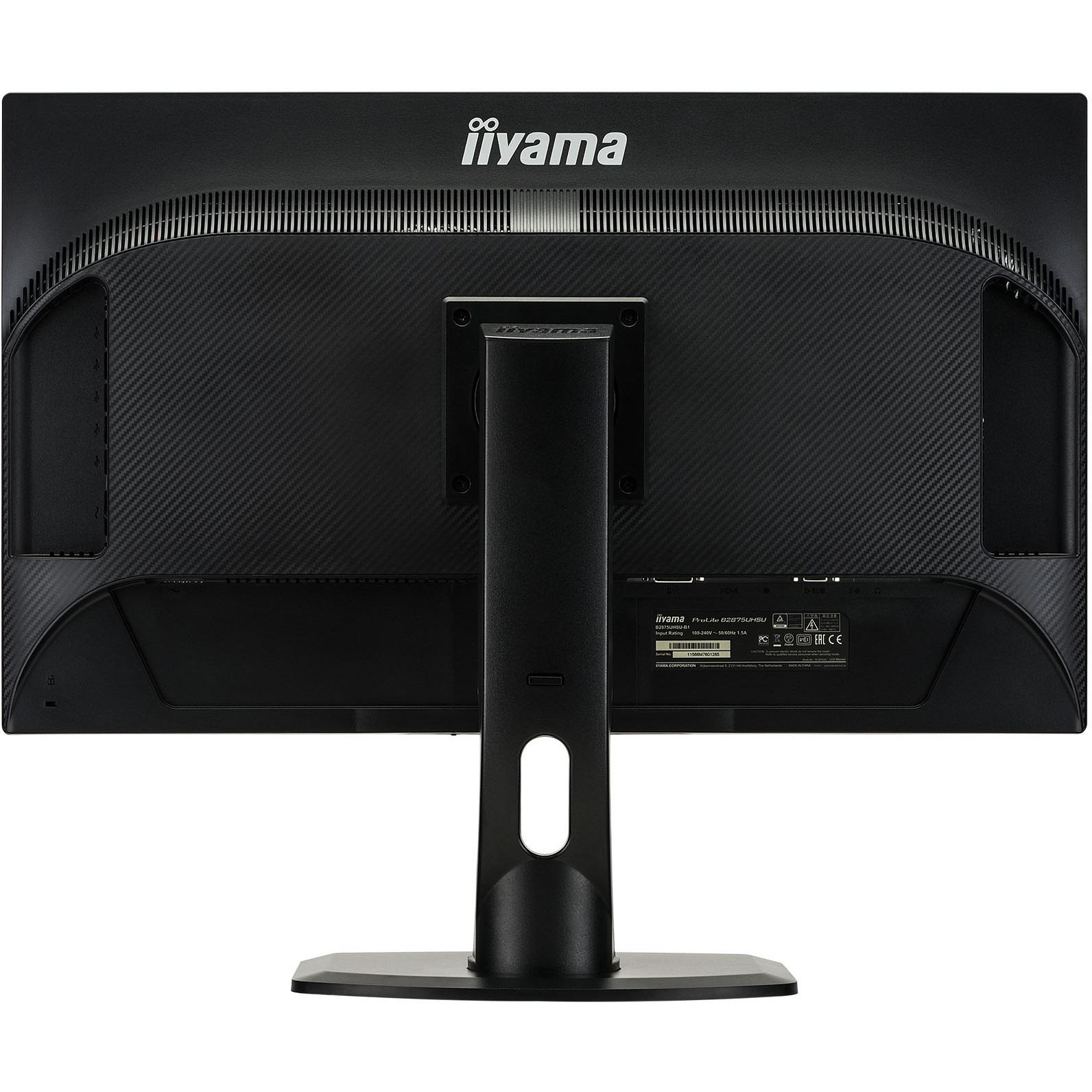 Iiyama ProLite B2875UHSU-B1 28inch LED Monitor - 4K UHD