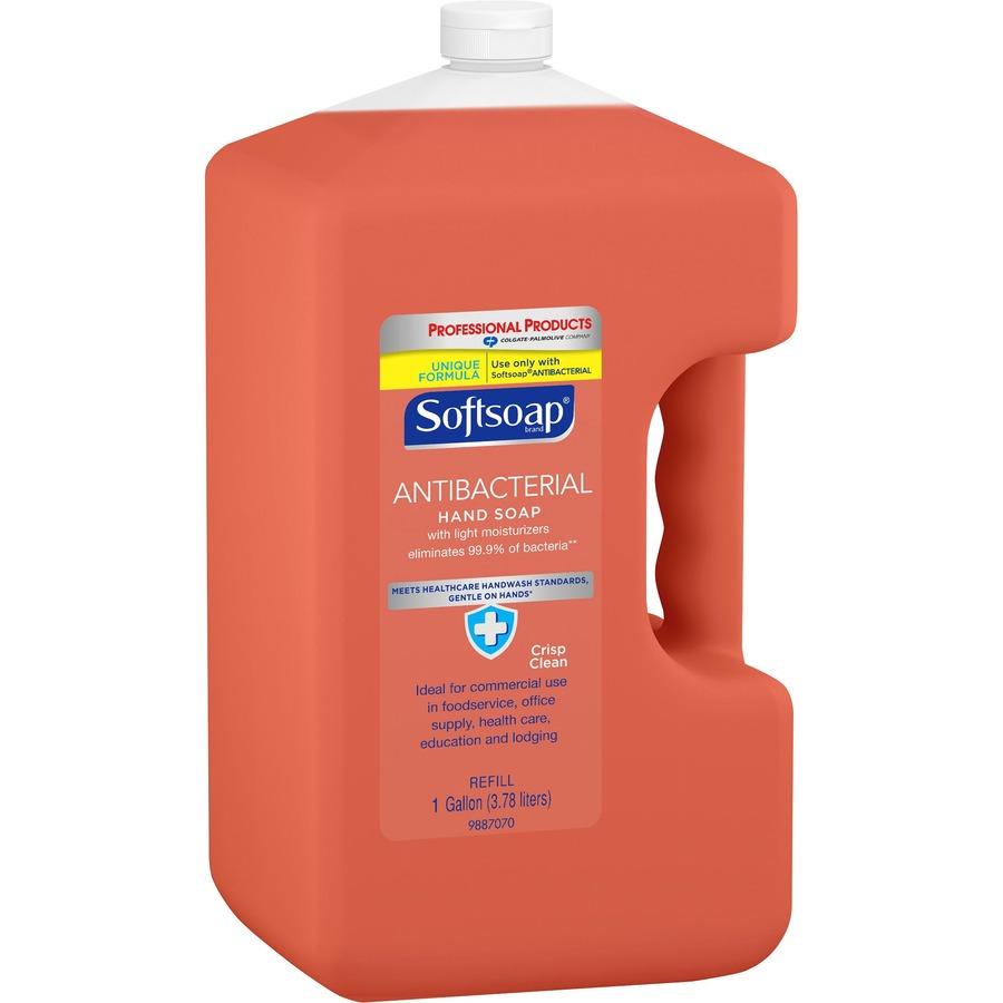 Button to buy liquid soap refills