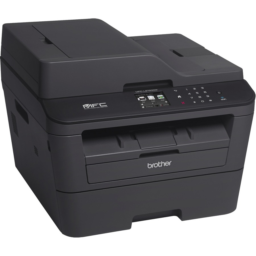 Brother MFC-L2720DW Laser Multifunction Printer - Monochrome - Plain Paper Print