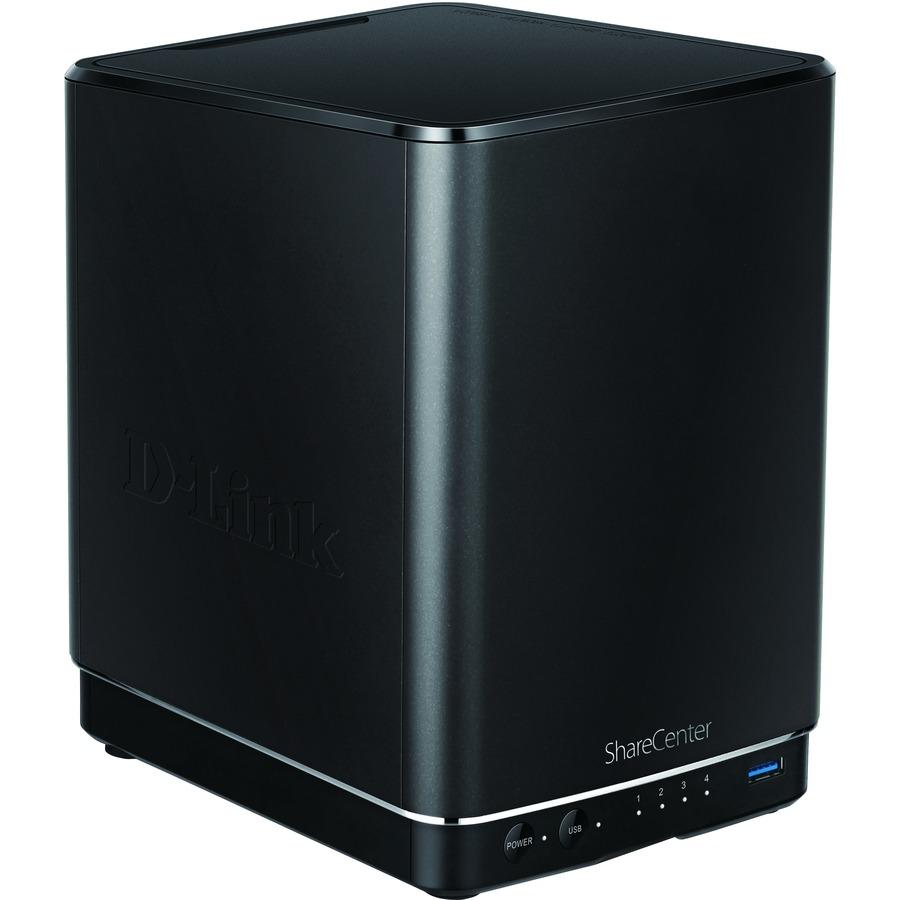 D-Link ShareCenter DNS-340L 4 x Total Bays NAS Server - External