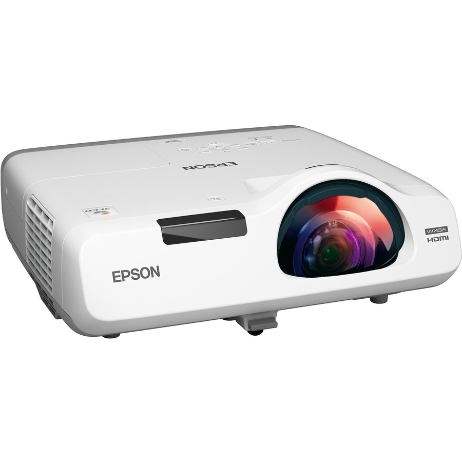 Epson PowerLite 535W Short Throw LCD Projector - 16:10 - White
