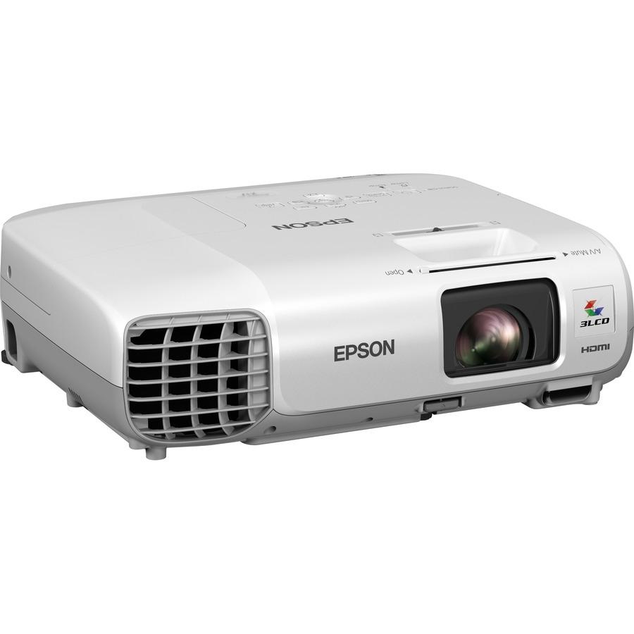Epson EB-X27, Projector, Mobile/Nogaming, XGA, 1024 x 768, 4:3, 2,700 lumen - 1,890 lumen economy