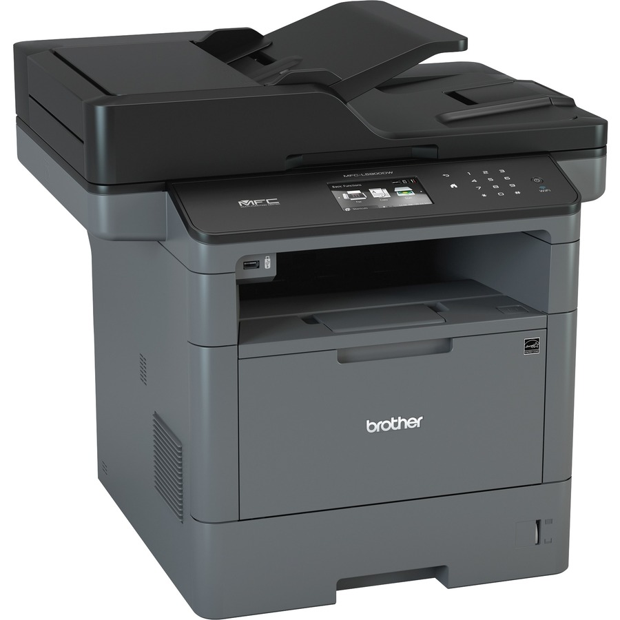 Brother MFC-L5900DW Laser Multifunction Printer - Monochrome - Duplex