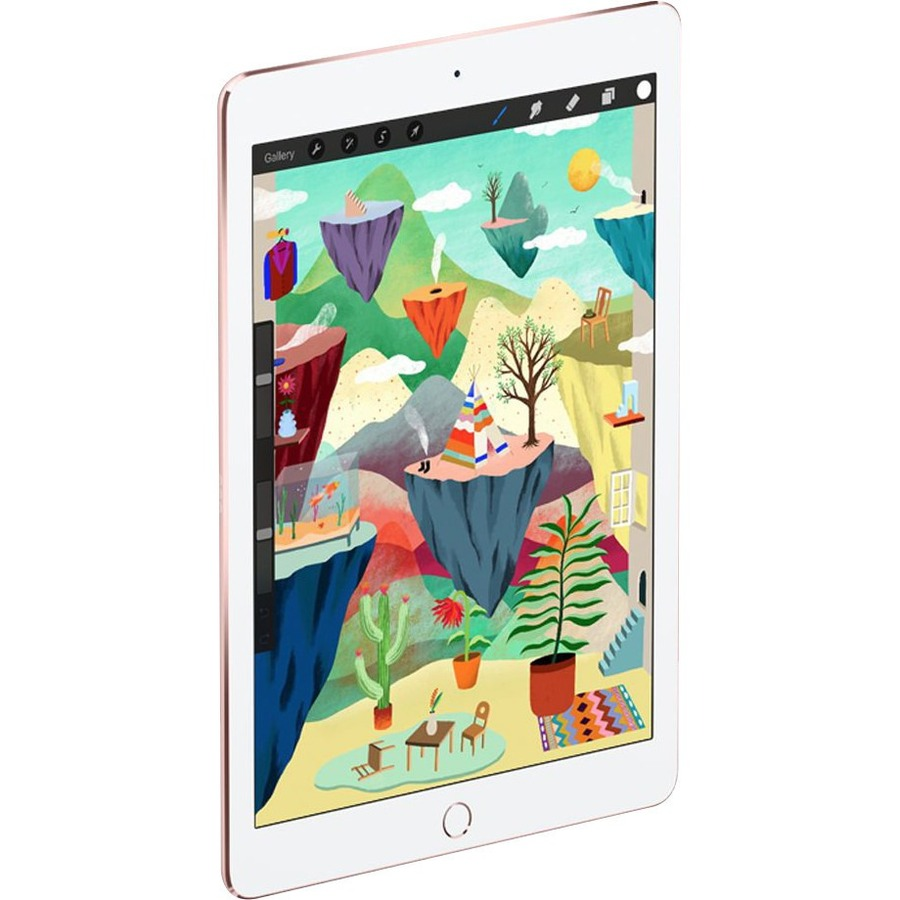 Apple iPad Pro Tablet - 24.6 cm 9.7inch - Apple A9X Dual-core 2 Core 2.16 GHz - 128 GB - iOS 9 - 2048 x 1536