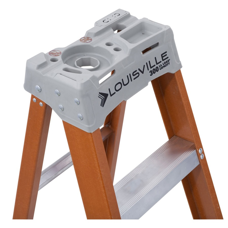 Stupendous Louisville 6 Fiberglass Step Ladder Andrewgaddart Wooden Chair Designs For Living Room Andrewgaddartcom