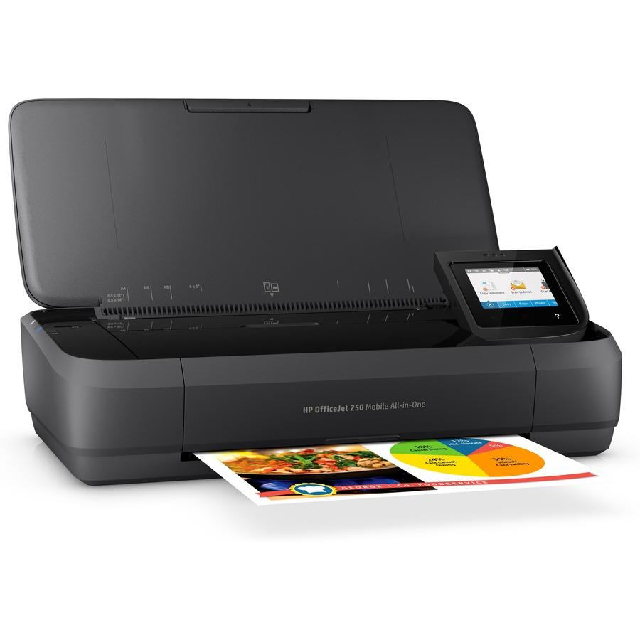 HP Officejet 250 Inkjet Multifunction Printer - Color