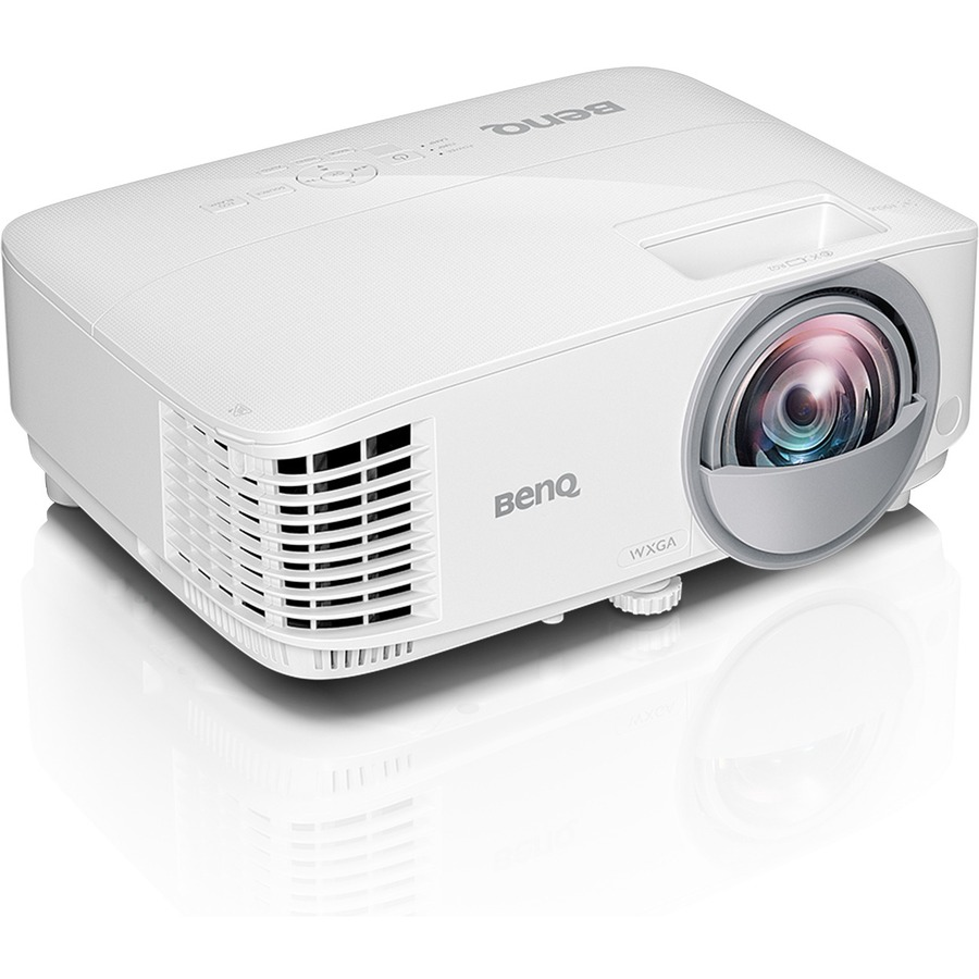 BenQ MW826ST 3D Ready Short Throw DLP Projector - 720p - HDTV - 16:10 - Front - Interactive - 200 W - 5000 Hour Normal Mode - 10000 Hour Economy Mode - 1280 x 800 -
