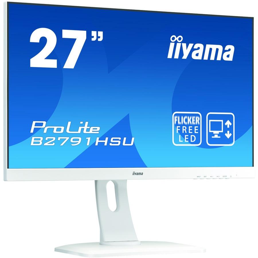 iiyama ProLite B2791HSU-W1 27inch WLED LCD Monitor - 16:9 - 1 ms