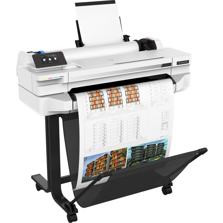 HP Designjet T500 T530 Inkjet Large Format Printer - 914.40 mm 36And#34; Print Width - Colour - Printer - 4 Colors - 27 Second Color Speed - 2400 x 1200 dpi - 1 GB - U