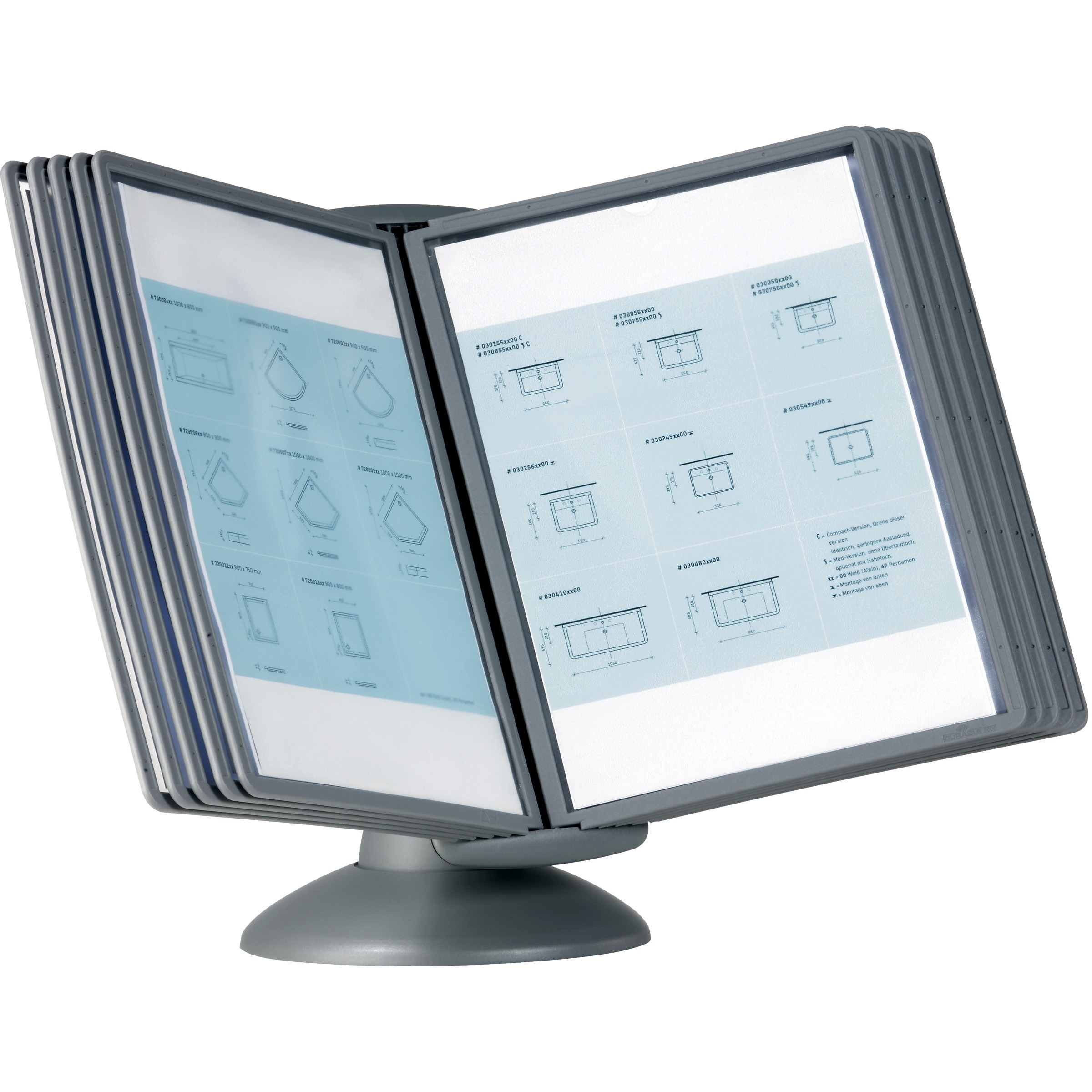 Dbl553937 Durable Sherpa Motion Desk Reference System