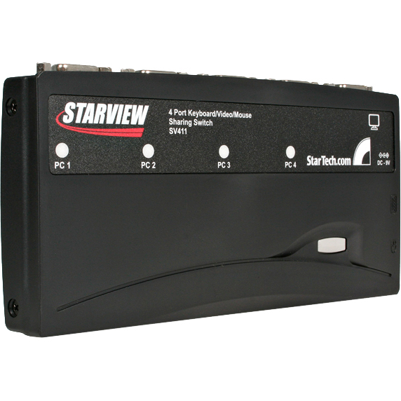StarTech.com StarView SV411K Analog KVM Switch