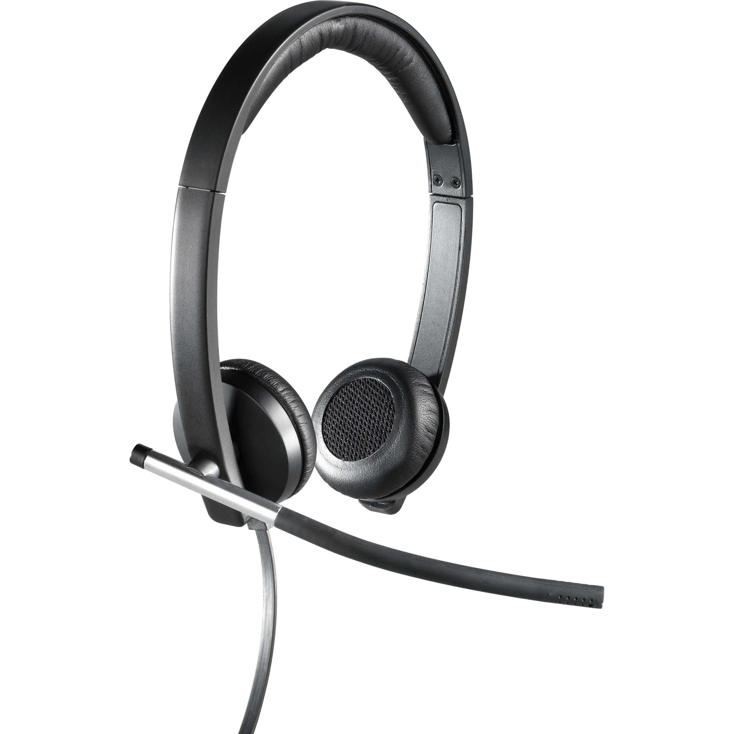 Logitech H650e Wired Headset - Over-the-head - Supra-aural - 50 Hz - 10 kHz - USB