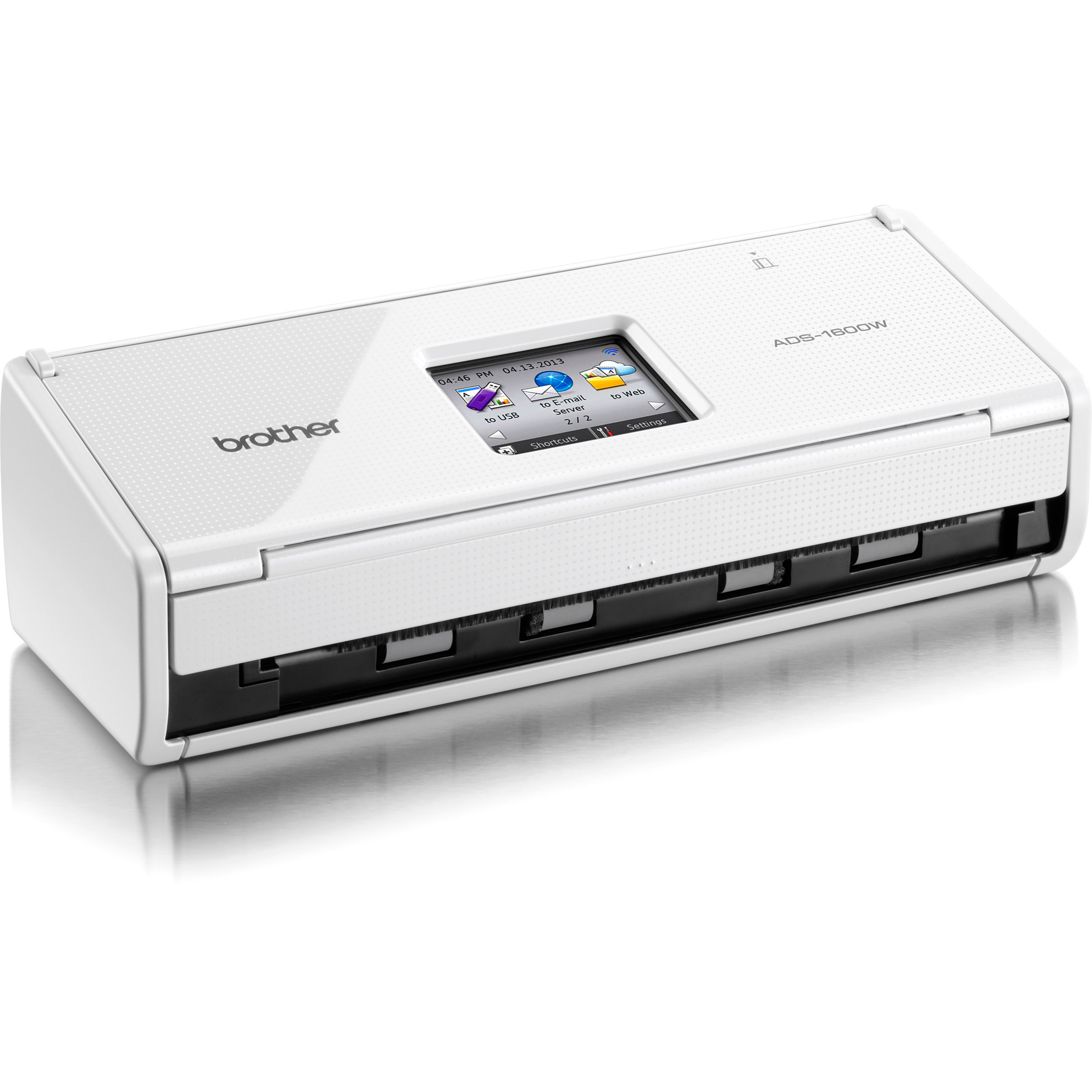 Brother ADS-1600W Sheetfed Scanner - 600 dpi Optical