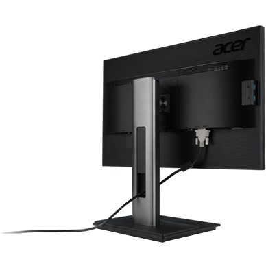 Acer B246HYL 60.5 cm 23.8inch LED LCD Monitor - 16:9 - 5 ms GTG - Adjustable Display Angle - 1920 x 1080 - 16.7 Million Colours - 250 cd/mAnd#178; - 100,000,000:1 - Ful