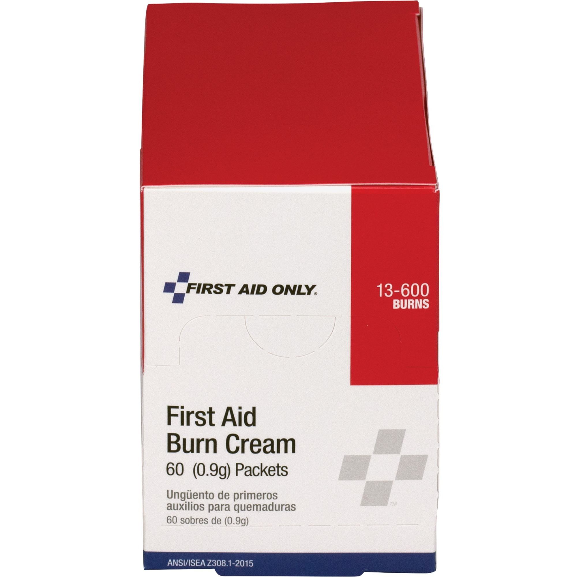 First Aid Only Burn Cream Packets - For Burn, Cut, Scrape - 0 03 oz - 60 /  Box