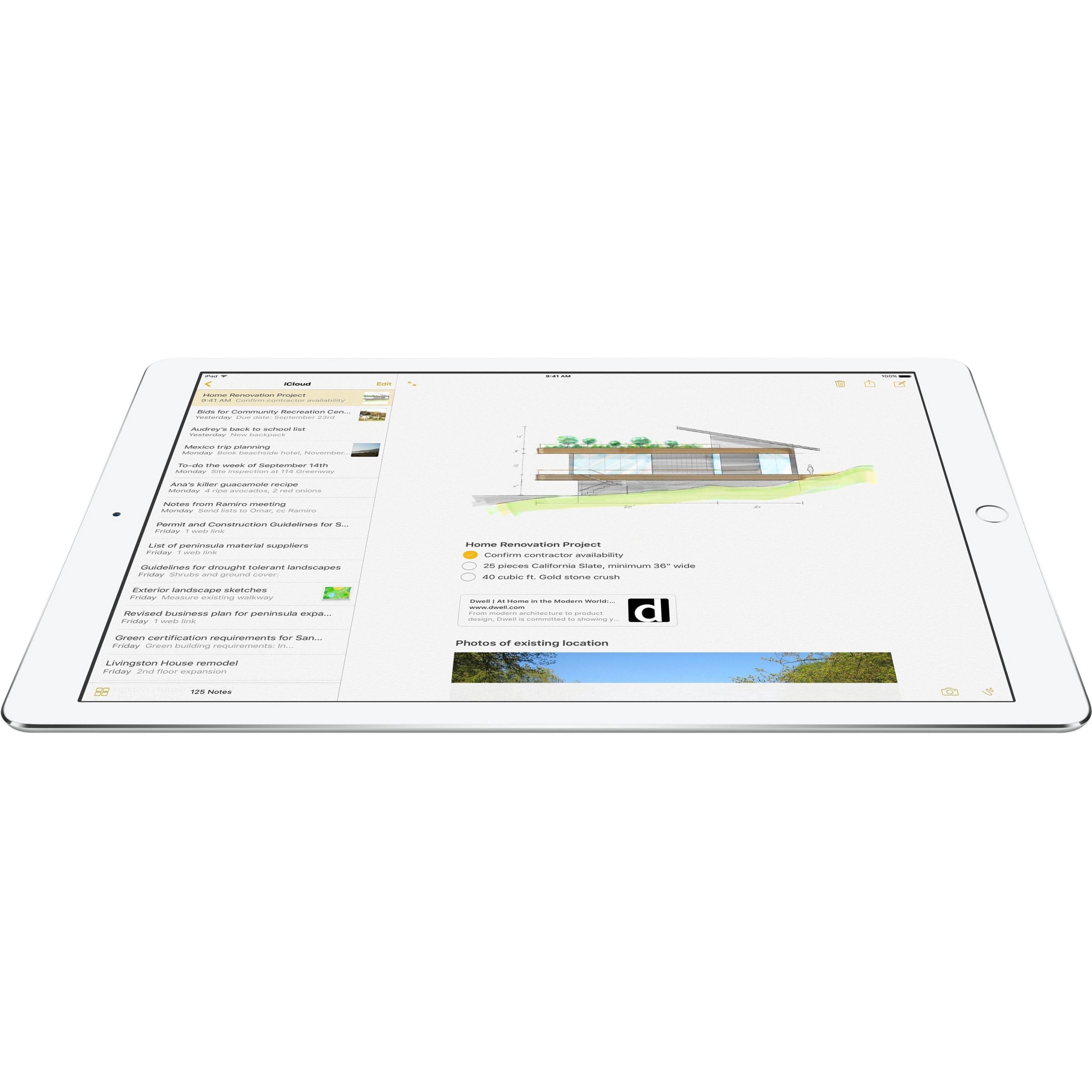 Apple iPad Pro Tablet - 32.8 cm 12.9inch - 4 GB - Apple A9X Dual-core 2 Core - 256 GB - iOS 9 - 2732 x 2048 - In-plane Switching IPS Technology, Retina Display -