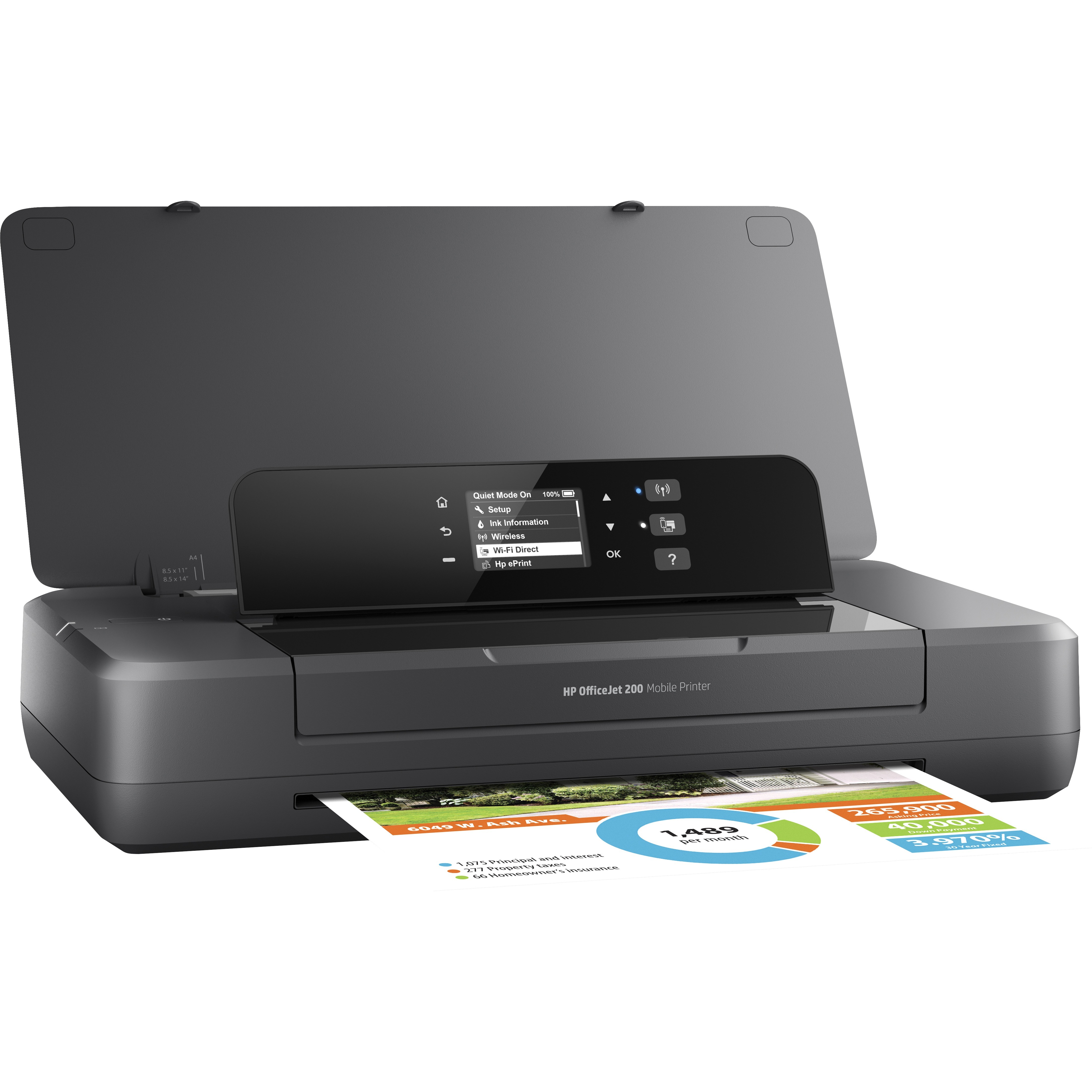hp printers black or color ink not printing other print