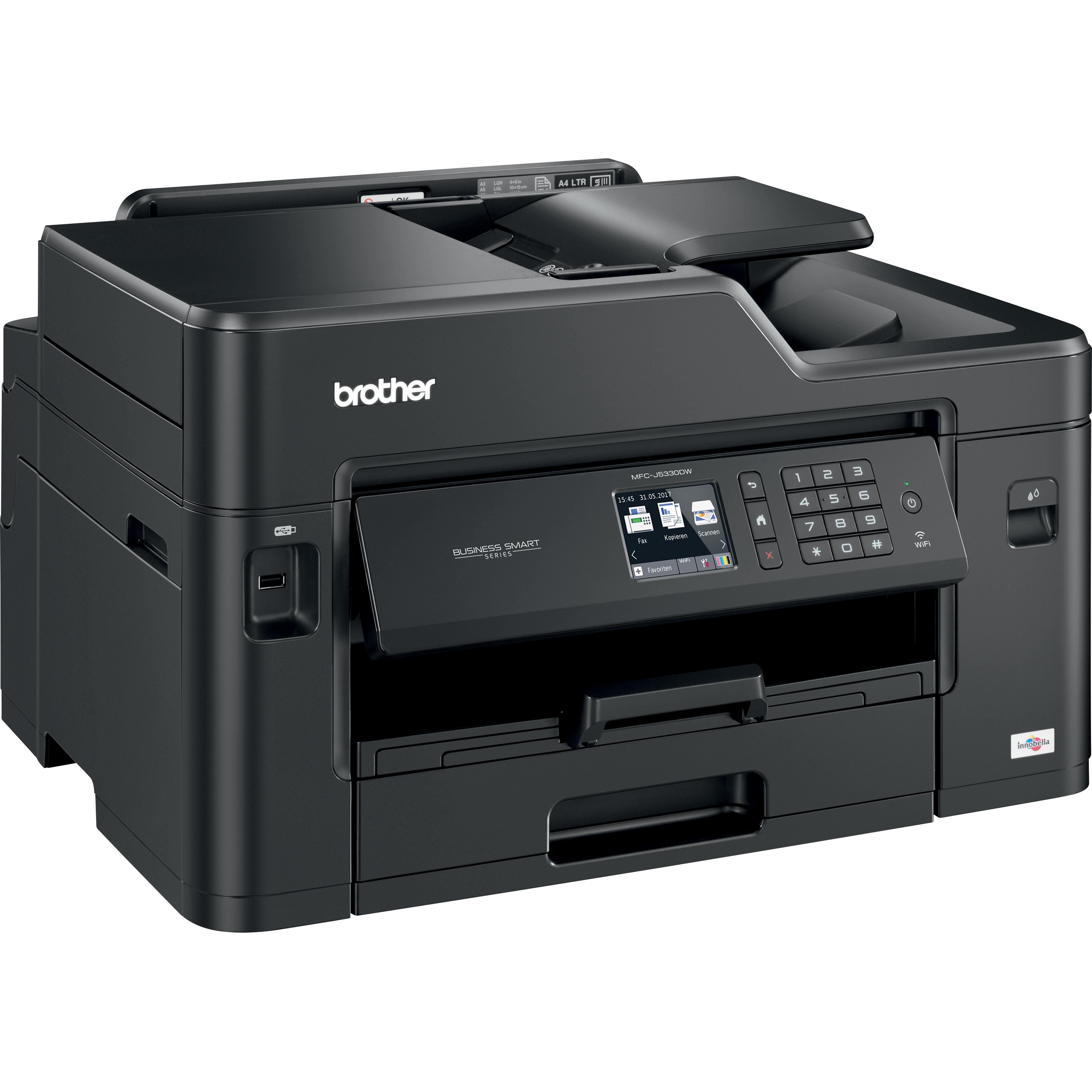 Brother Business Smart MFC-J5330DW Inkjet Multifunction Printer - Colour